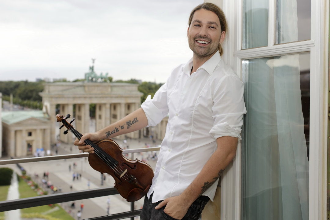 David Garrett spielt am 4. Mai in der Messe Chemnitz.