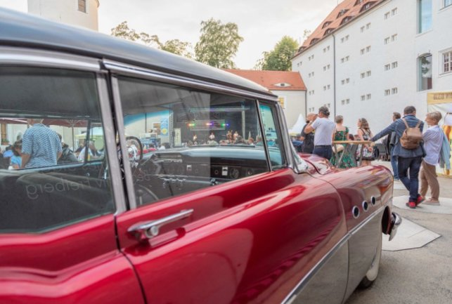 "Freiberger Sommernächte 2020. Hot Ride & Friends - ""Back to the 60´s"". Foto Marcel Schlenkrich"