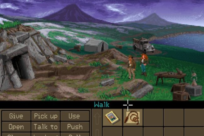 """Indiana Jones and the Fate of Atlantis"" erschien als letztes Indy-Game 1992."