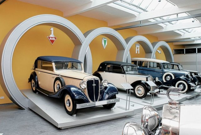 Zwickau, August Horch Museum. Foto: Harry Haertel