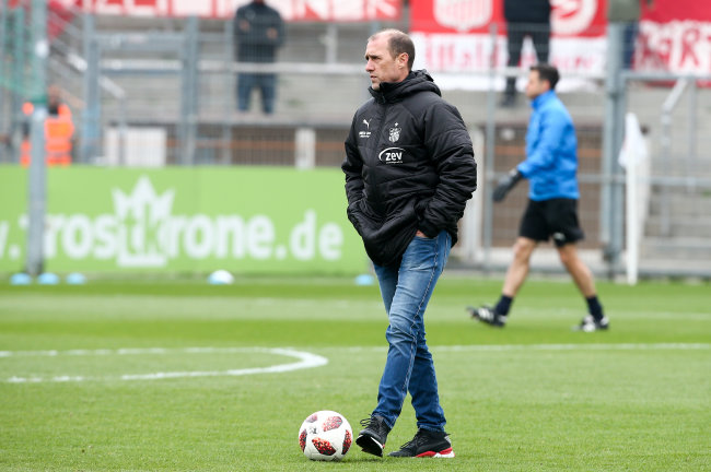 Zwickaus Trainer Joe Enochs.