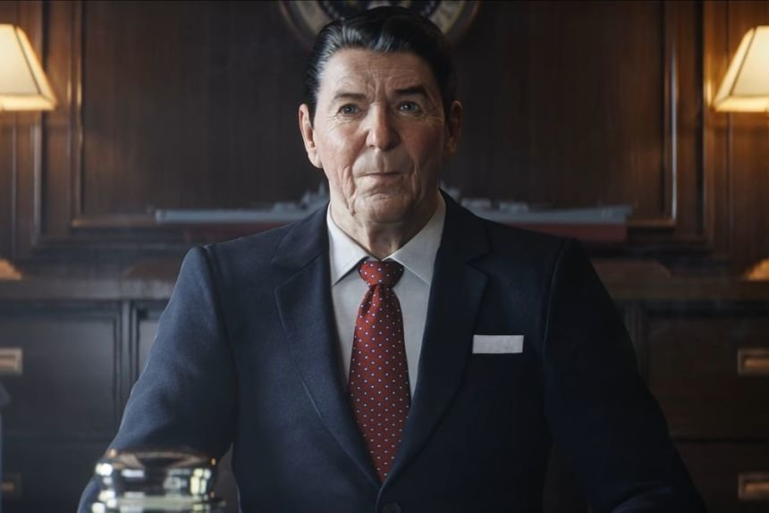 "US-Präsident Ronald Reagan gibt in ""Call of Duty: Black Ops - Cold War"" die Befehle!"