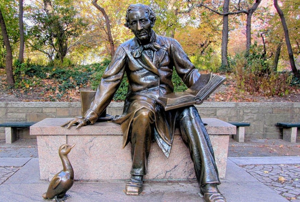 Hans Christian Andersen Statue im Central Park in New York City. Foto: Pixabay/ Ronile