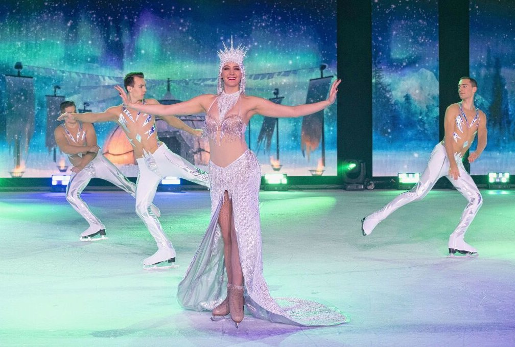 "Im Februar gibt es das ""Holiday on Ice""-Spektakel in Zwickau. Foto: HOLIDAY ON ICE/Morris Mac Matzen"