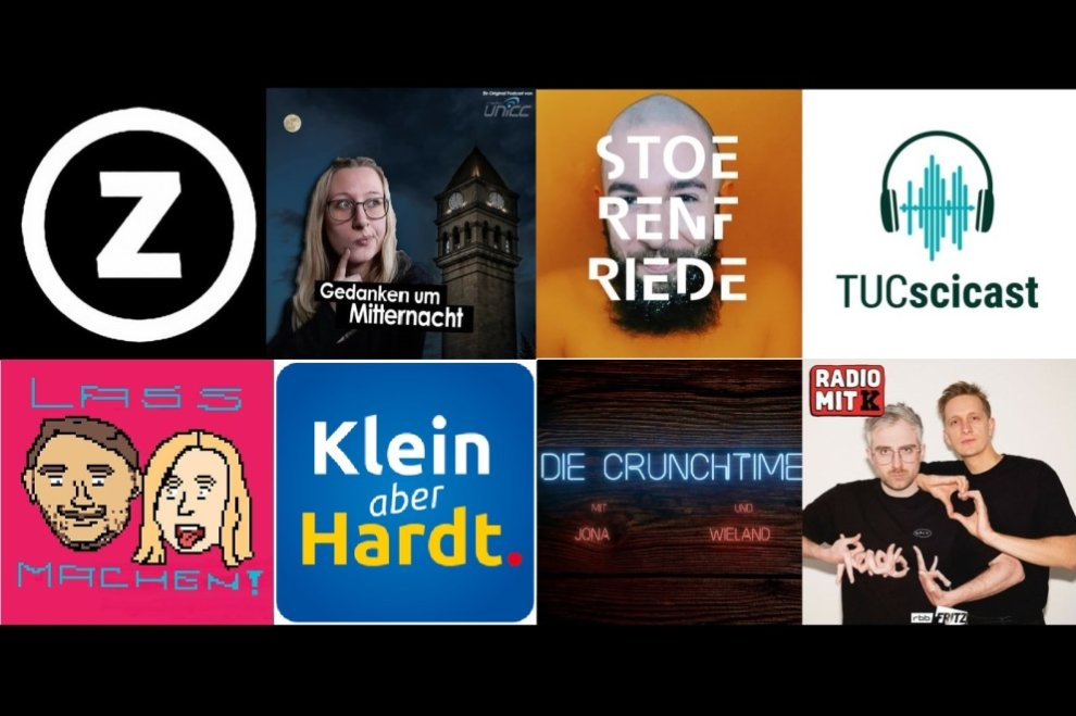 Diese Podcasts sind made in Chemnitz.