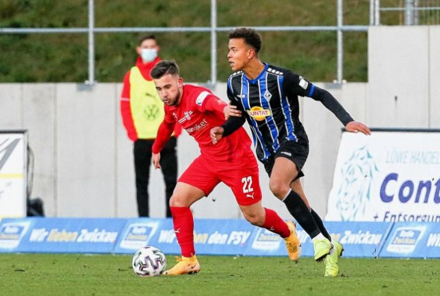 v.l.: Can Coskun (22, Zwickau) und Marcel Costly (17, Mannheim) . Foto: PICTURE POINT / Gabor Krieg