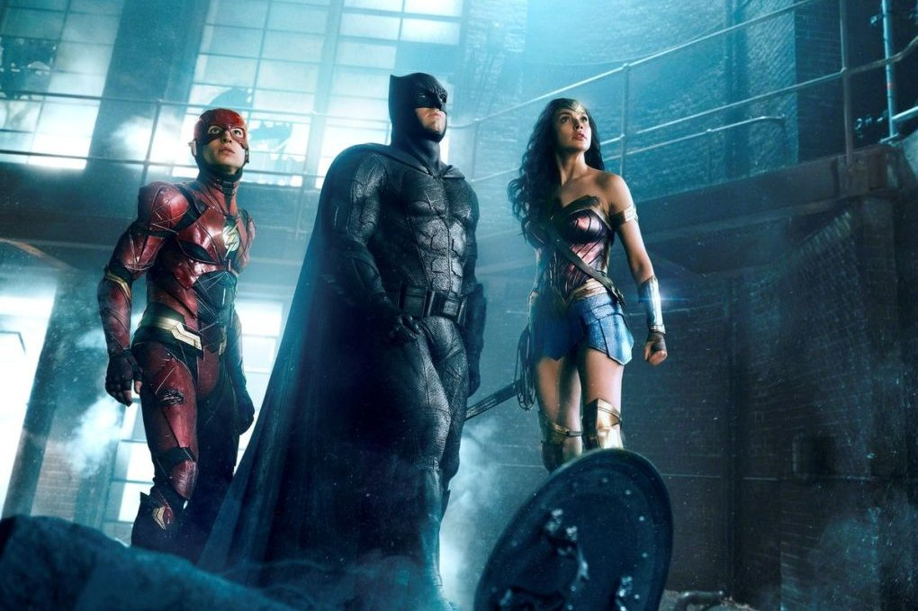 "In ""Zack Snyder's Justice League"" kehren unter anderem The Flash (Ezra Miller, links), Batman (Ben Affleck) und Wonder Woman (Gal Gadot) zurück."
